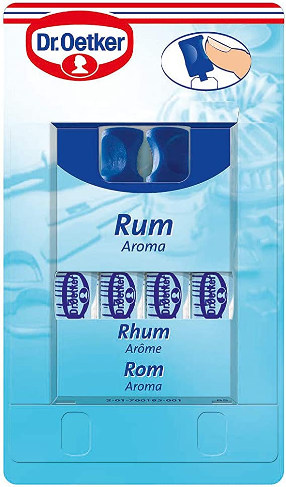 Dr. Oetker Aroma Rum 4 pack