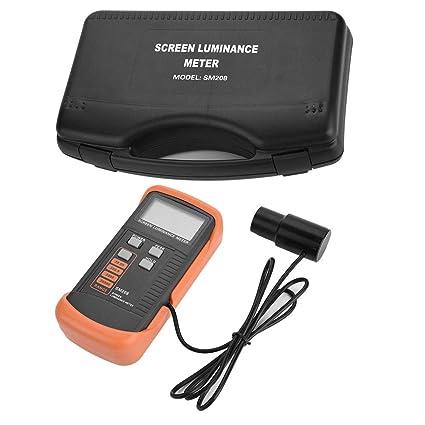 SM208 Dispositivo de Control de Luminancia de Pantalla Portátil con Mini Detector de Luz 0.01-