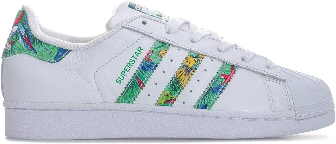 adidas Originals Baskets Superstar Blanc Fille