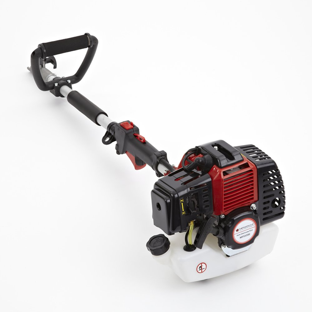 Trueshopping® - Motosierra de combustión, de 52 cc, podadora con brazo telescópico, 2,2 kW, 3 HP