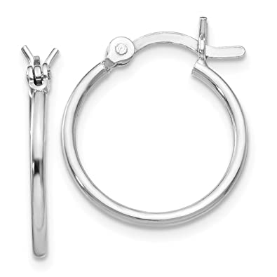a20bd82c2dcff Sterling Silver Hoop Earrings - ICE CARATS 925 Sterling Silver Hinged Hoop  Earrings Ear Hoops Set Round Classic Fine Jewelry Ideal Gifts For Women ...