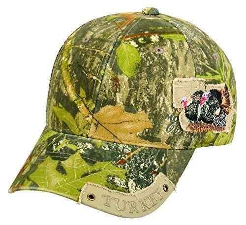 Mossy Oak Adjustable Closure Hunting Cap, Mossy Oak Obsession Camo