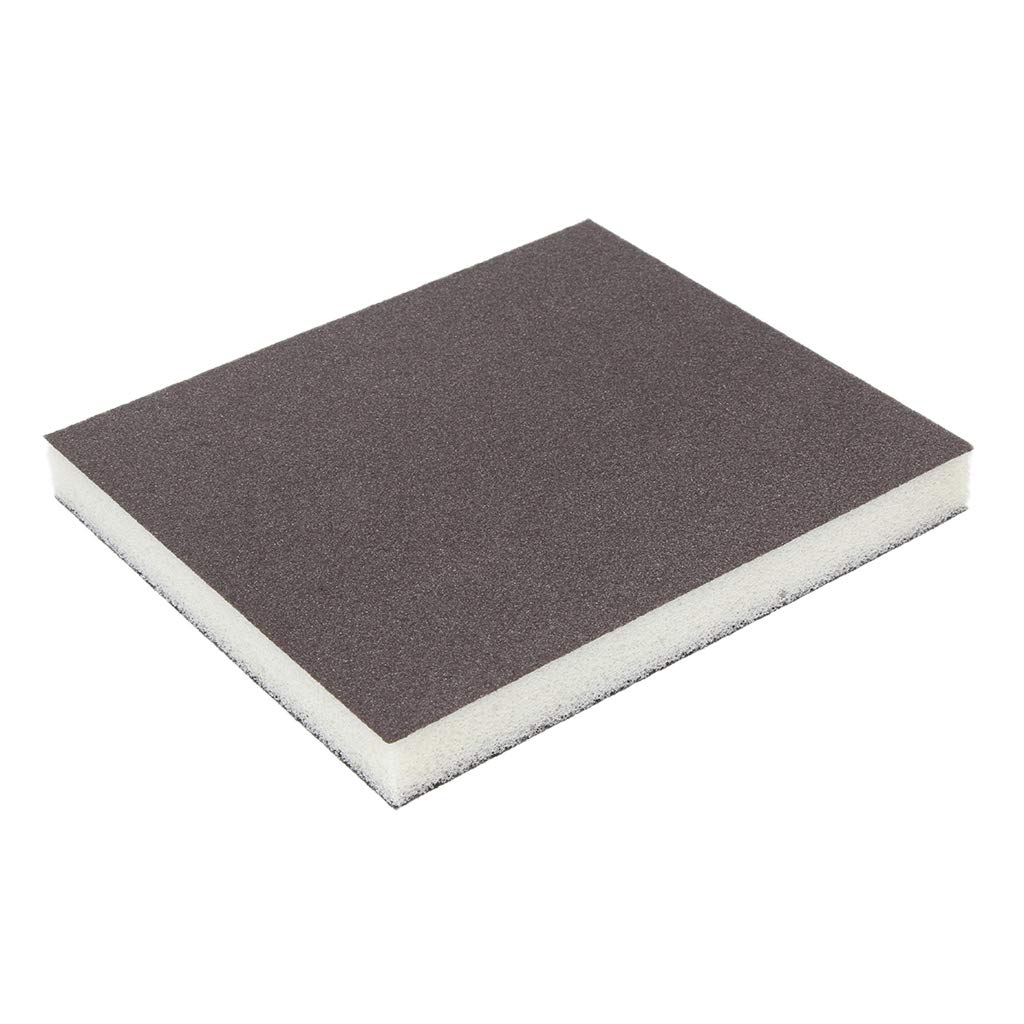 curved and contoured surfaces D DOLITY 5 Pcs Coarse//Medium Grit Sanding Sponge Grey Small Area Polishing 150 Grit for sanding flat