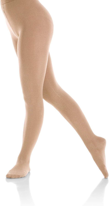 Mondor 3371 Footed Natural Figure Skating Tights Light Tan XL-XG