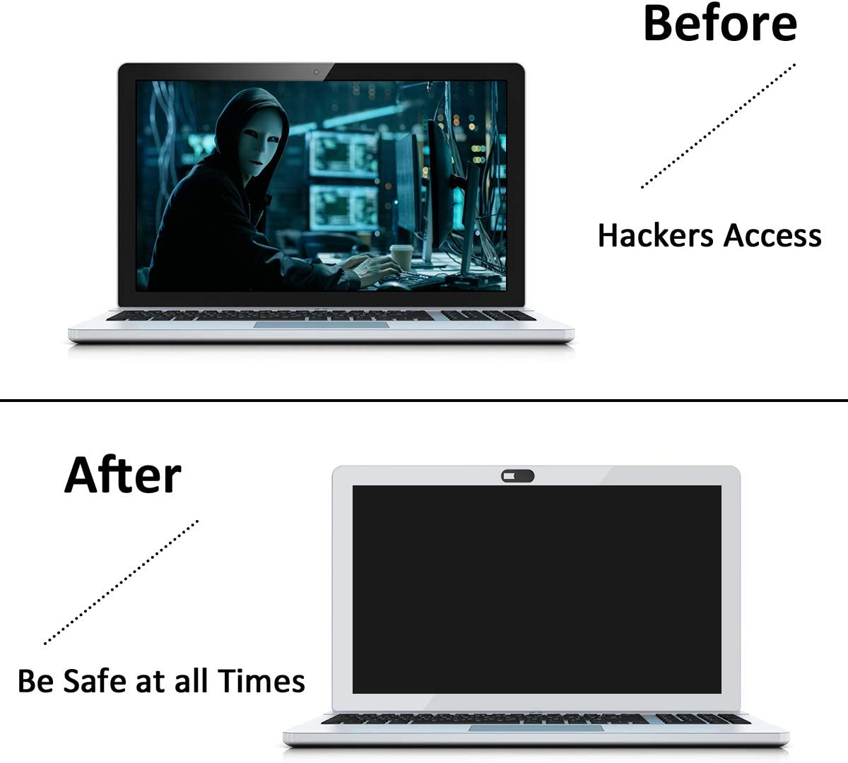 Tablets Computer Smartphone Tablets Etc MacBook Pro 6 Pack Protect Your Privacy /& Security w//2 Designs PC Webcam Cover Slide for Privacy iPad - Ultra Thin Web Camera Cover for Laptops
