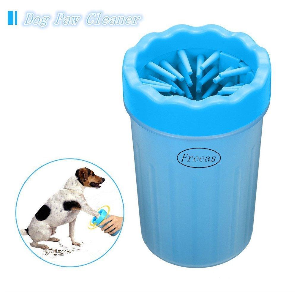 Nettoyeur de Patte de Chien Portable, Freeas Brosse de nettoyage pour animal domestique Tasse Chien nettoyeur pour pied