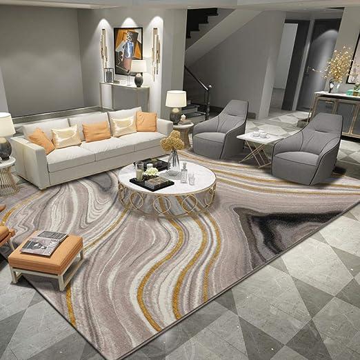 Amazon Com Rugs Grey Luxury Living Room Large Carpet Modern Waves