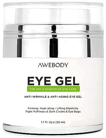 Amazon.com  Upgraded Awebody Eye Gel Cream for Dark Circles 00e50015e0a2
