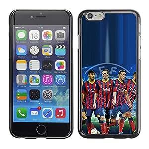PIG - FOR Apple Iphone 6 Plus 5.5 - Barcelona Soccer Team - Dise???¡¯???€????€????¡Ào para el caso de la cubierta de pl??&AEli