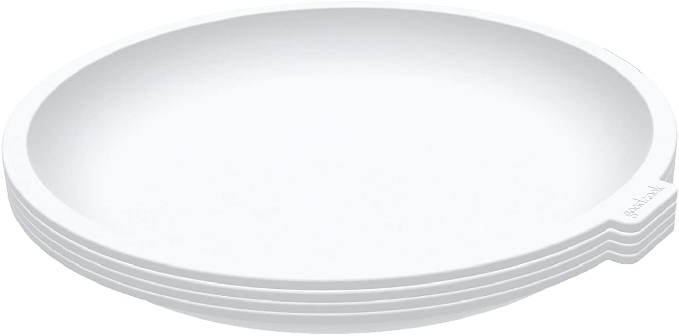 Good Cook 20149 Microwave Plates, Set of 4 Kitchen Essentials