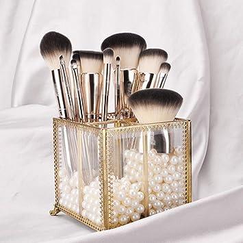 33c92832b AA-SS-Makeup Brush Set de Pinceles de Maquillaje de Belleza: Pinceles de  Maquillaje con Estuche de Pinceles, licuadora de Belleza: Amazon.es: Hogar