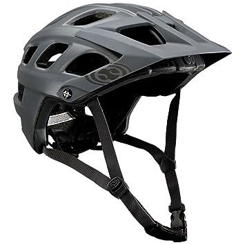 IXS Casco de Bicicleta de montaña Trail RS EVO Graphite: Amazon.es ...