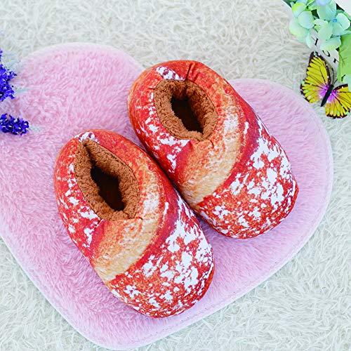 36 Home Top B Pantofole Pane Shishang Inverno Peluche Simulazione 40 A Lady di Regalo Novità Natale wwqpAOI