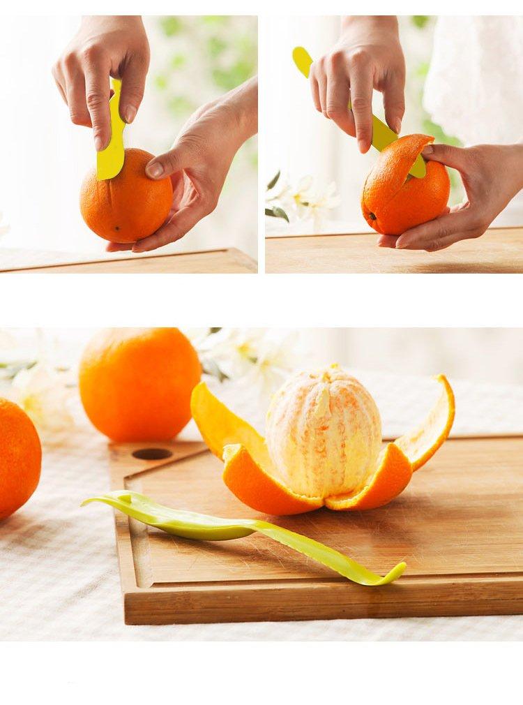 Lemon Squeezer Lime Manual Juicer with Multifunctional Orange Peeler by Fonitial (Image #7)