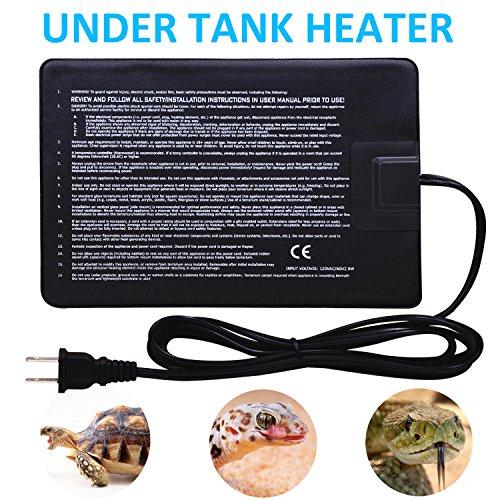 2 Pack 8 Watt Under Tank Heater Reptile Heating Pad Ideal