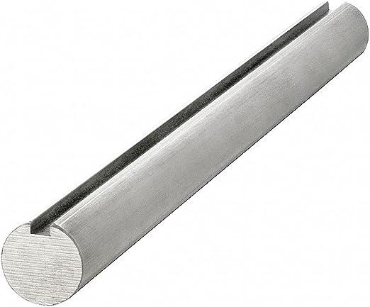 "1//2/"" Steel Shaft Keyed 3//16/""   both ends     1018  12/"" long  2 keys"