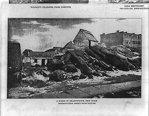 Foto: Diario Gráfico, marzo de 4,1880, escena en shantytown, nueva ...