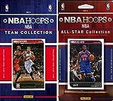 NBA Philadelphia 76ers Licensed 2014-15 Hoops Team Plus All-Star Set, Brown, One Size