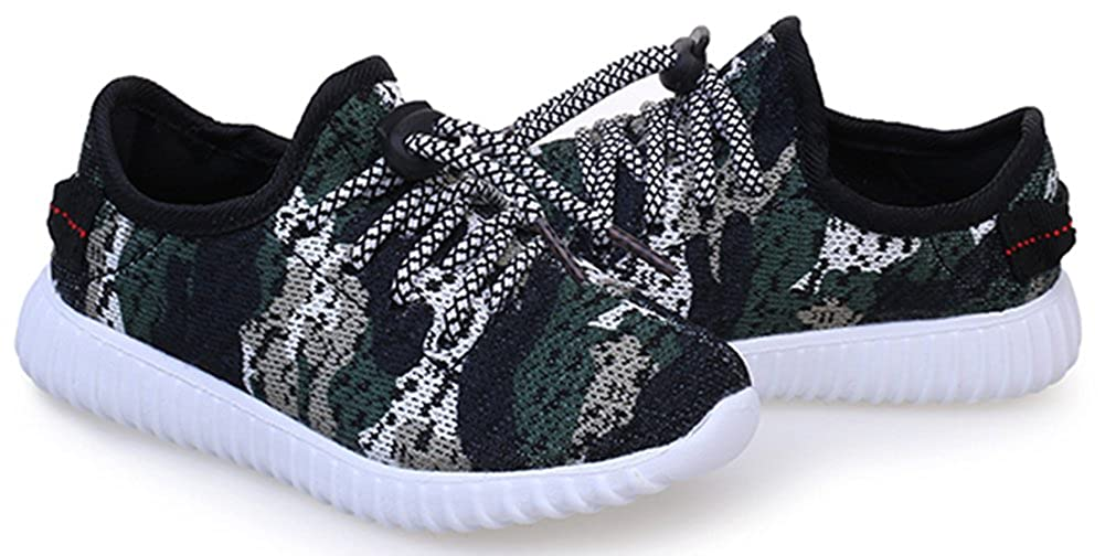 SFNLD InStar Boys Fashion Breathable Drawstring Sneakers Shoes