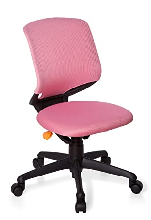 HJH Office Kid Move 712140 Childrenu0027s Office / Swivel Chair Pink / Black