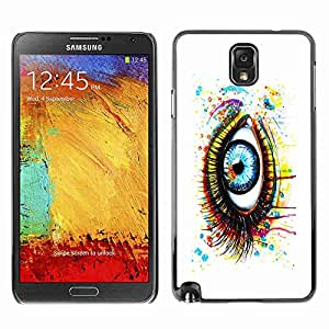 Planetar® ( Painted Eye ) Fundas Cover Cubre Hard Case Cover Samsung Galaxy Note 3 III / N9000 / N9005