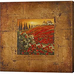 Bella Toscana II by Patricia Pinto Canvas Art Wall Picture, Gallery Wrap, 12 x 12 inches