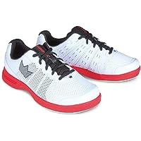 Brunswick Men\'s Fuze Bowling Shoes, White/Red, Size 10