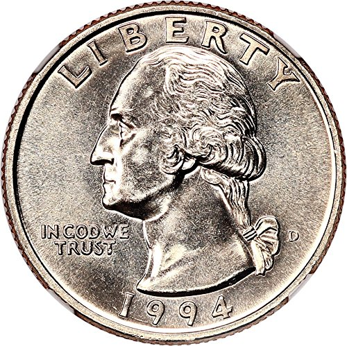 1994 D Washington Quarters (1932-98) Quarter MS67 NGC