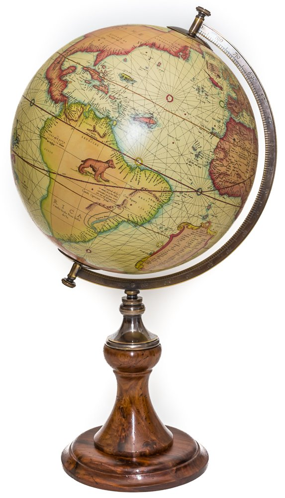 Luxury Authentic Globe of the World up to 1541