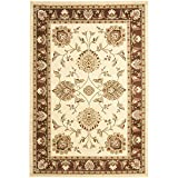 Safavieh Lyndhurst Collection LNH555-1225 Traditional Oriental Ivory and Brown Area Rug (6'7″ x 9'6″) Review