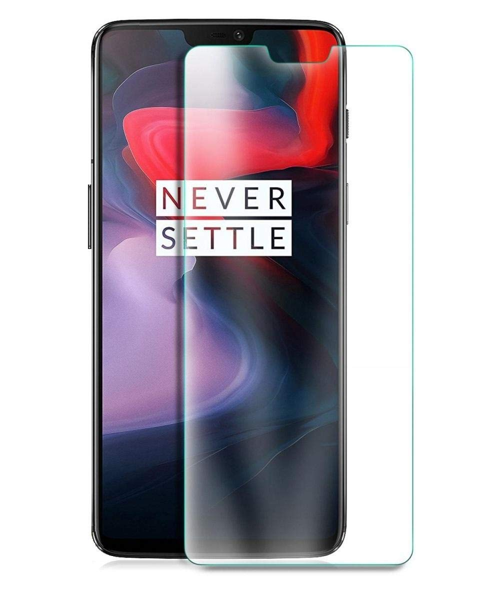 OnePlus 6 Tempered Glass Screen Protector Shock Proof Glass - Clear