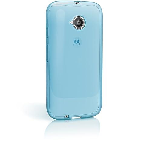 3951d4c2b44 igadgitz Funda de TPU y Protector de Pantalla para Motorola Moto E 2a  generación XT1524