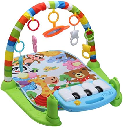 Baby Infant Play Mats Gym Musical Lullaby Activity Floor Kids Music Piano Toys