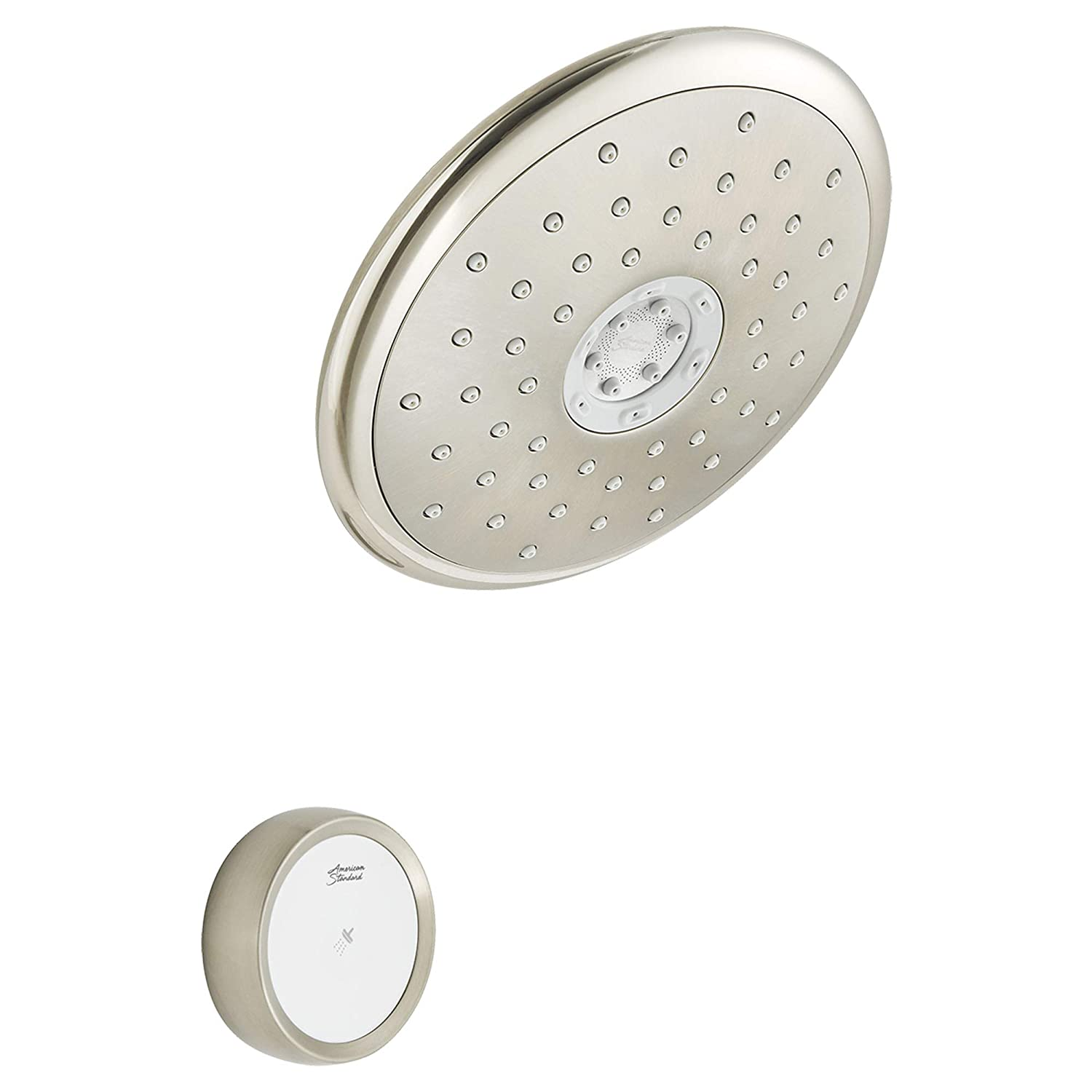 American Standard 9035474.295 Spectra eTouch 4-Function Shower Head, 2.5 GPM, Brushed Nickel