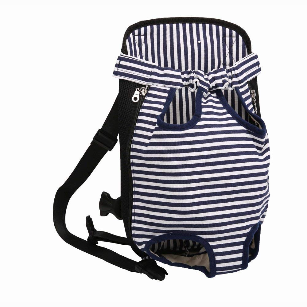 bluee M bluee M Yugoujiu Cat Out Of The Strap Chest Chest Pet Backpack With Cat Out The Back Bag Front Hug Dog Carrying Bag Artifact,bluee,M