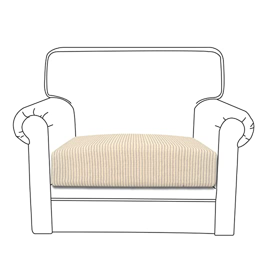 Surprising Easy Going Stretch Cushion Cover Sofa Cushion Furniture Protector Sofa Seat Sofa Slipcover Sofa Cover Soft Flexibility With Elastic Bottom Chair Pabps2019 Chair Design Images Pabps2019Com
