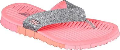 skechers Shoes Go Flex Solana 14262 gray hot pink
