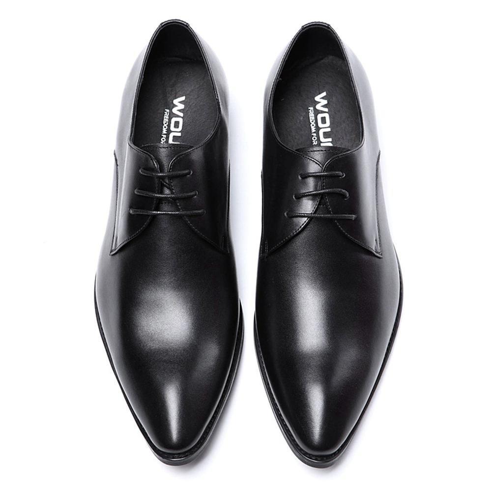 XIE Männer Clever Clever Männer Oxford Formal Geschäft für Männer Schnüren Leder Schuhe Spitz Zehe Schwarz Braun Hochzeit Büro Arbeit 56dfa9