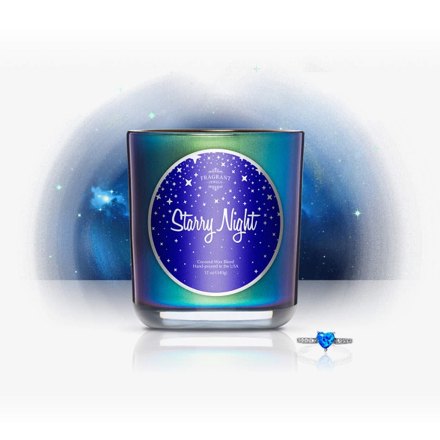 Fragrant Jewels Starry Night Jewel Candle with Collectible Rings (Size 5-10) by Fragrant Jewels (Image #3)