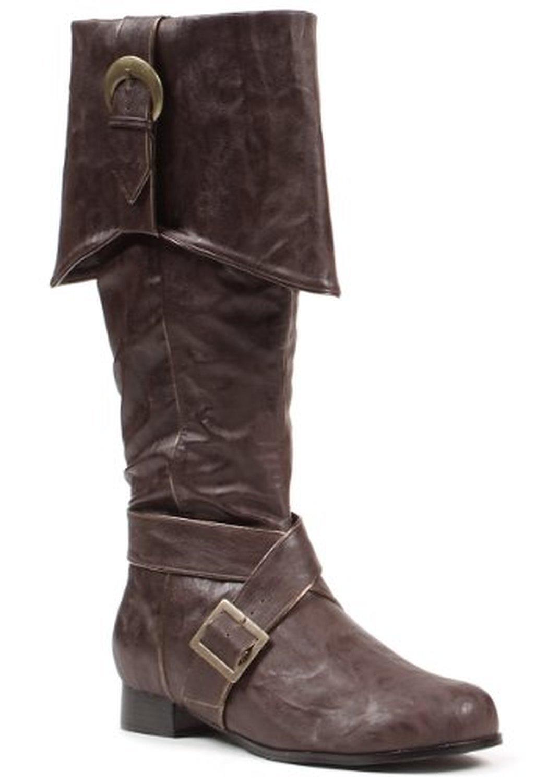 Ellie Shoes Men's 121-JACK 1 Heel Knee High Boot