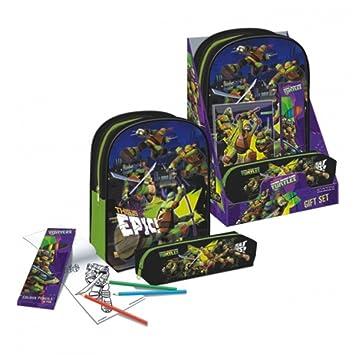 Set regalo Tortugas Ninja: Amazon.es: Juguetes y juegos