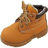 Malloom Invierno Bebe Niño Ejército Estilo Martin Bota Zapatos Calientes