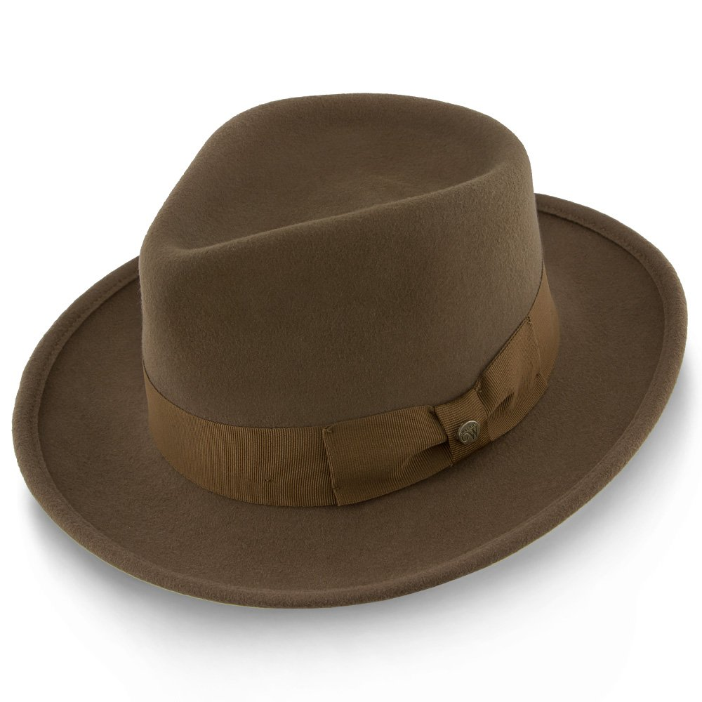 148083713cd Amazon.com  Walrus Hats Capital Wool Felt Fedora - H7000  Clothing