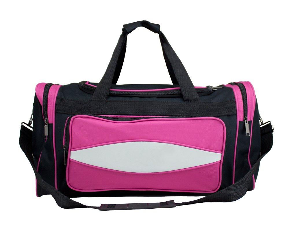 クラウンスポーツ用品600 HD Tuff Clothキャンバスダッフルバッグ、20インチ/ Mサイズ B00NAXZ6USピンク 20-Inch/Medium