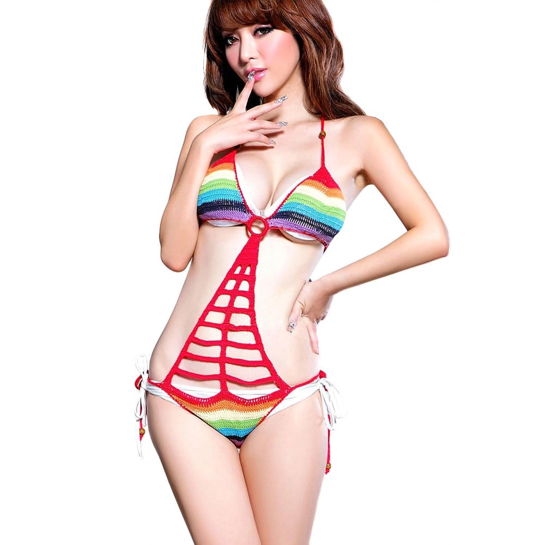 Exotic bikini wear