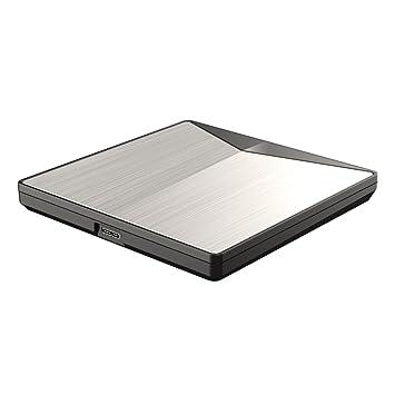 Tamaño compacto Slim externo USB 3.0 Unidad de PC portátil DVD RW Grabador de CD Grabadora de quemador Ranura de lector de carga Reproductor Unidad óptica: ...