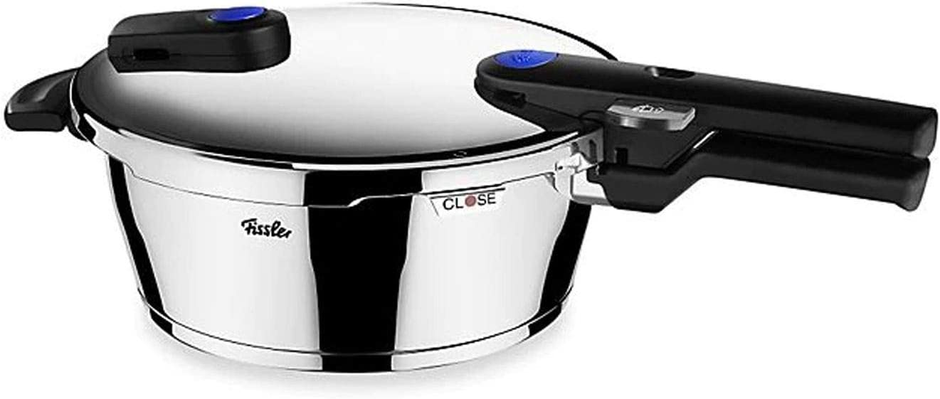 Fissler vitaquick Pressure Coocker Stainless Steel Induction, 2.7 Quart, silver