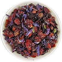 Mahalo Tea Tropical Hibiscus Herbal Tea - Loose Leaf Tea - 2oz