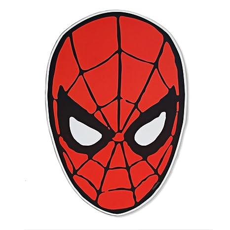 Amazon.com: Marvel Plata Buffalo Spiderman Ojos Die Cut ...