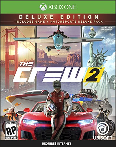 The Crew 2 Deluxe Edition - Xbox One [Digital Code] by Ubisoft
